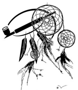 dream-catcher-and-peace-pipe-clip-art