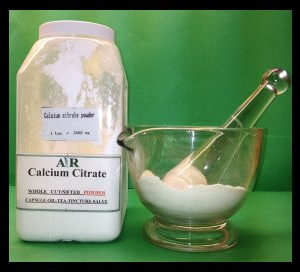 Calcium Citrate Powder Bulk By The Ounce